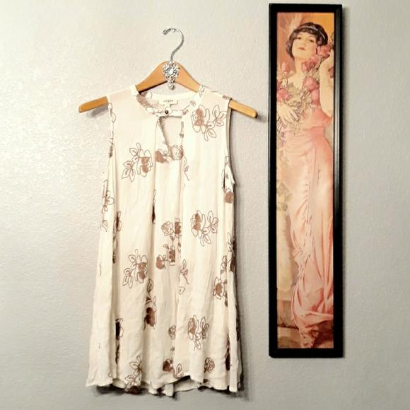 Umgee Tops - Umgee boho floral embroidered tunic